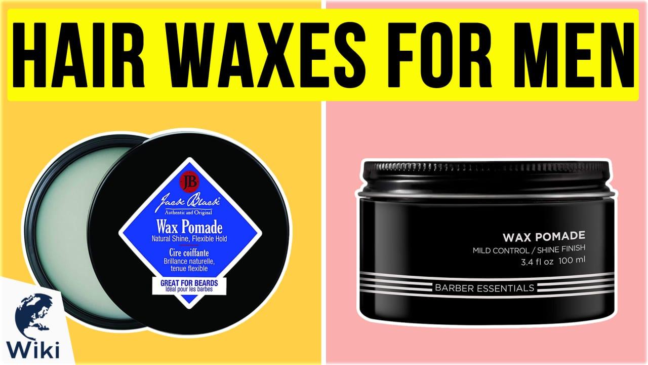 10 Best Hair Waxes for Men