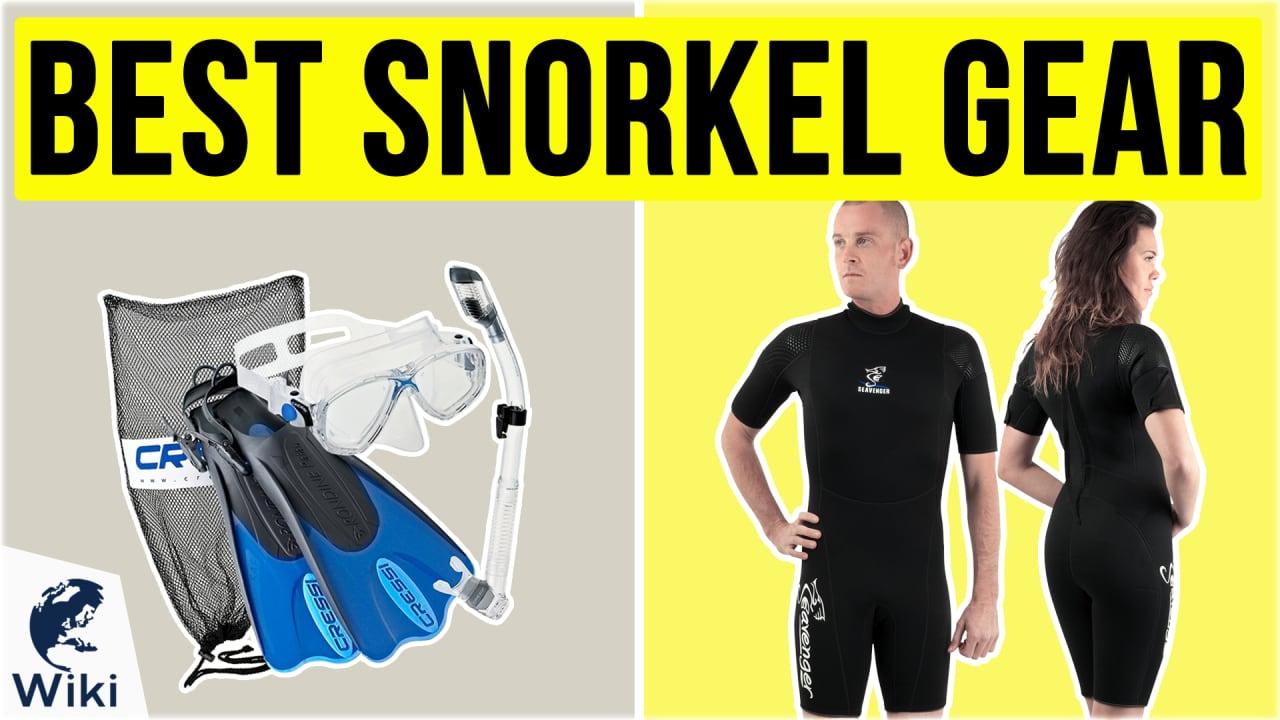 10 Best Snorkel Gear