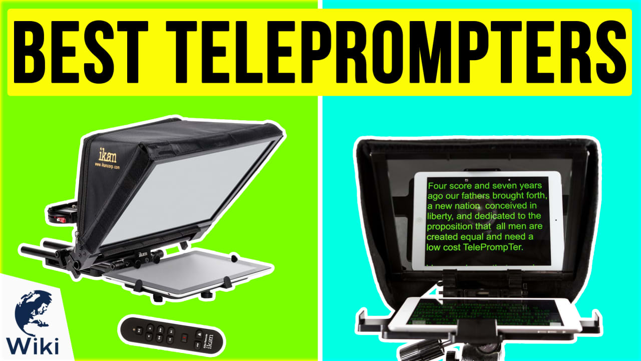 7 Best Teleprompters