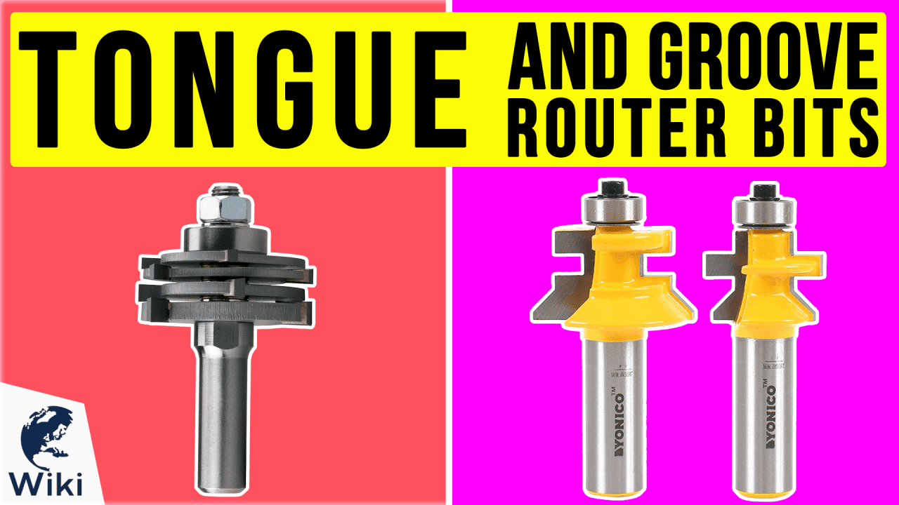 8 Best Tongue And Groove Router Bits