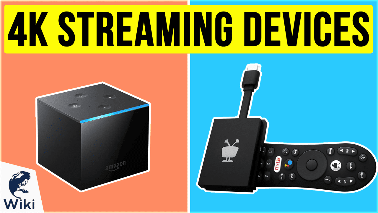10 Best 4K Streaming Devices