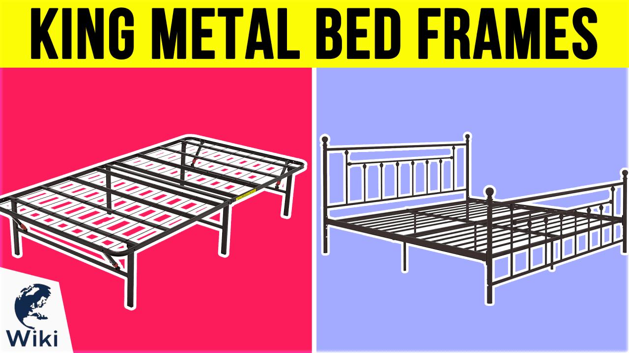 10 Best King Metal Bed Frames