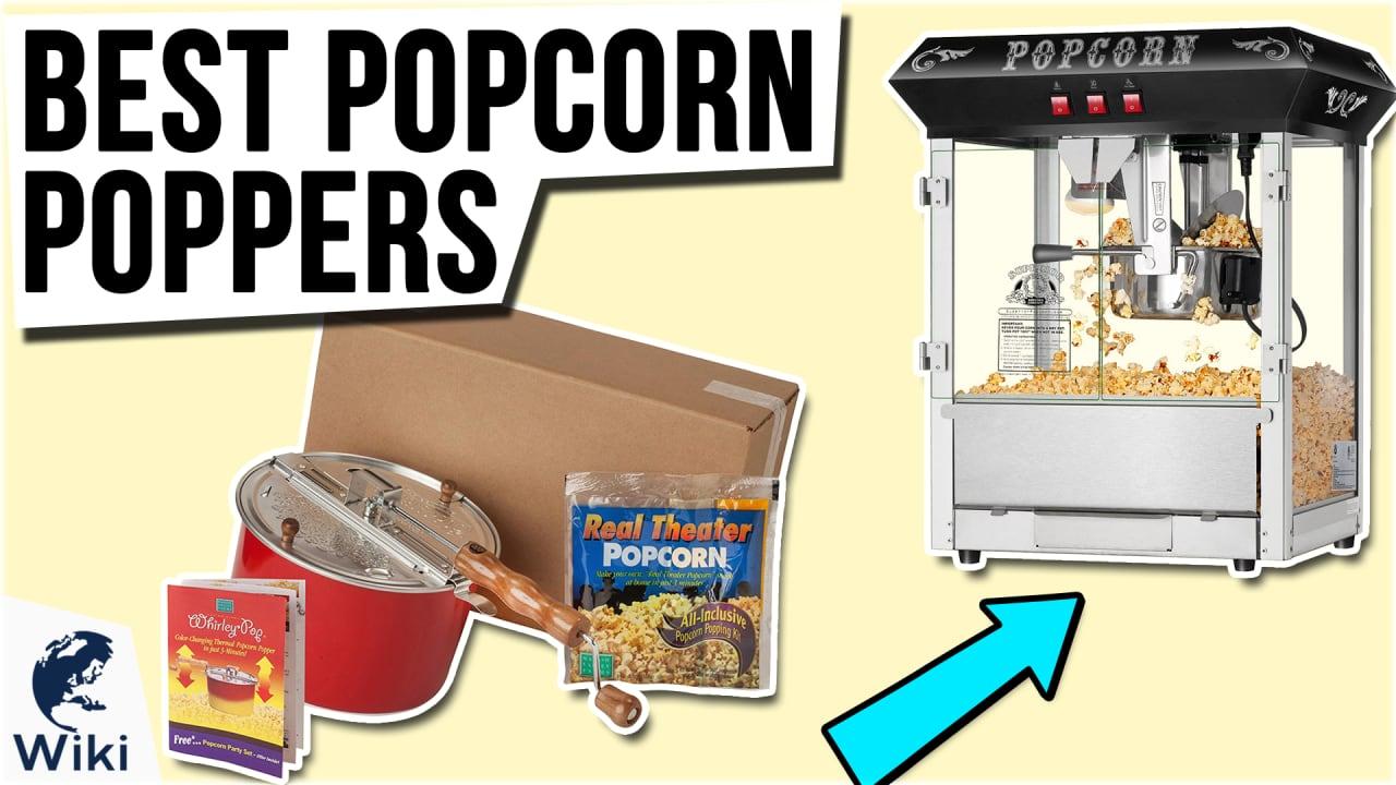 10 Best Popcorn Poppers