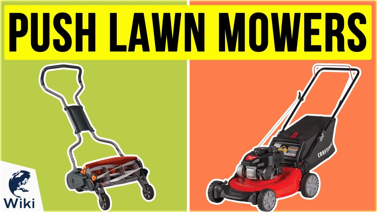 10 Best Push Lawn Mowers