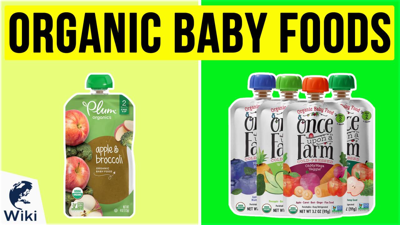 10 Best Organic Baby Foods