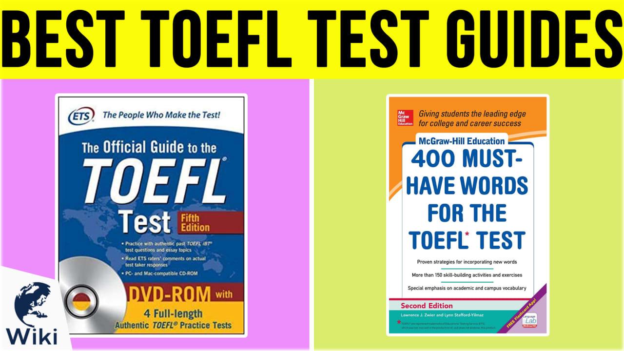 10 Best TOEFL Test Guides