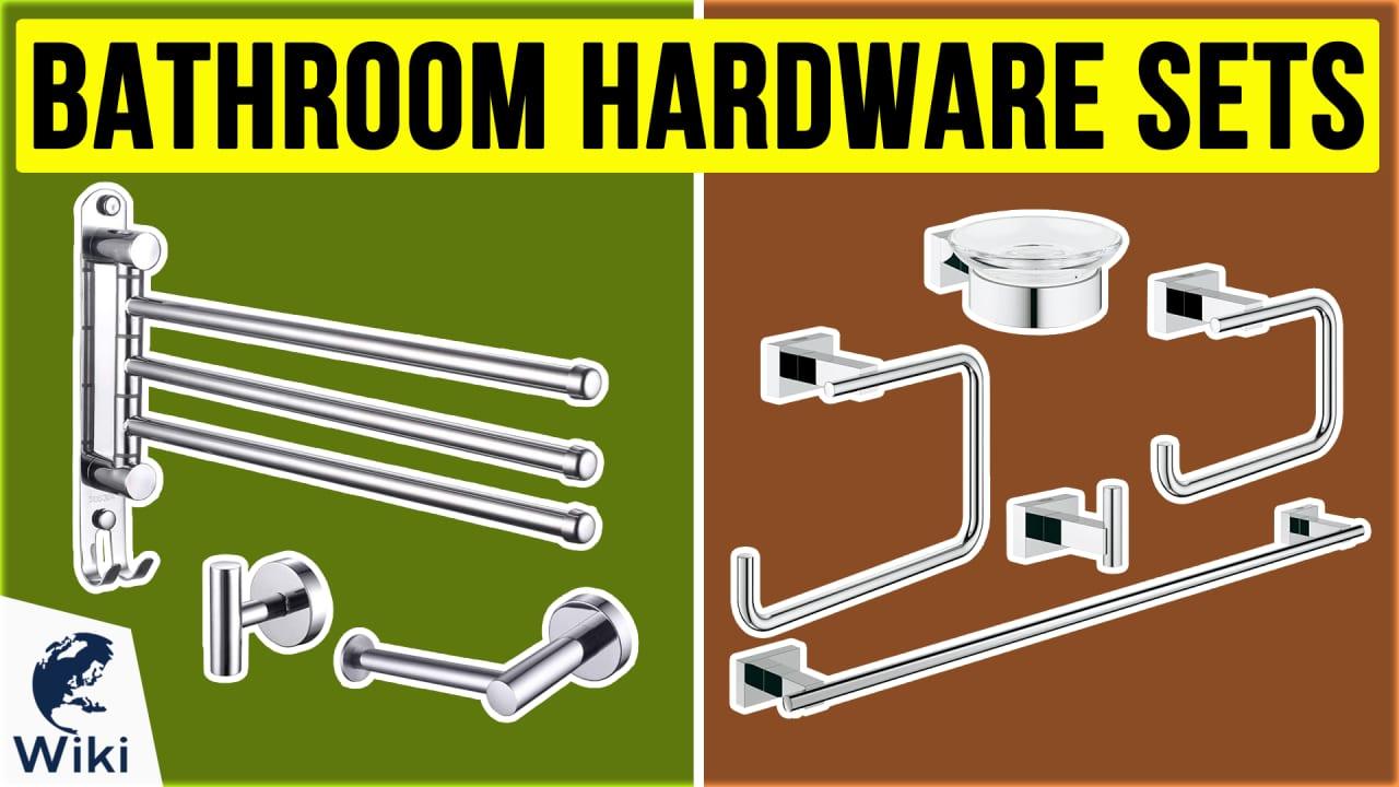 10 Best Bathroom Hardware Sets