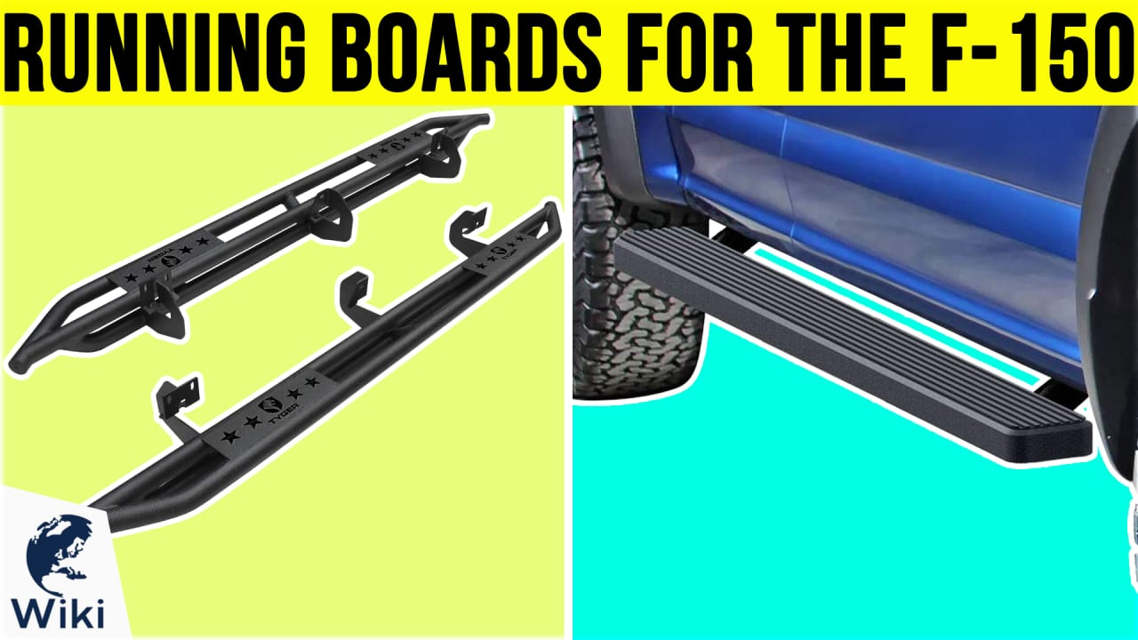 8 Best Running Boards For The F-150