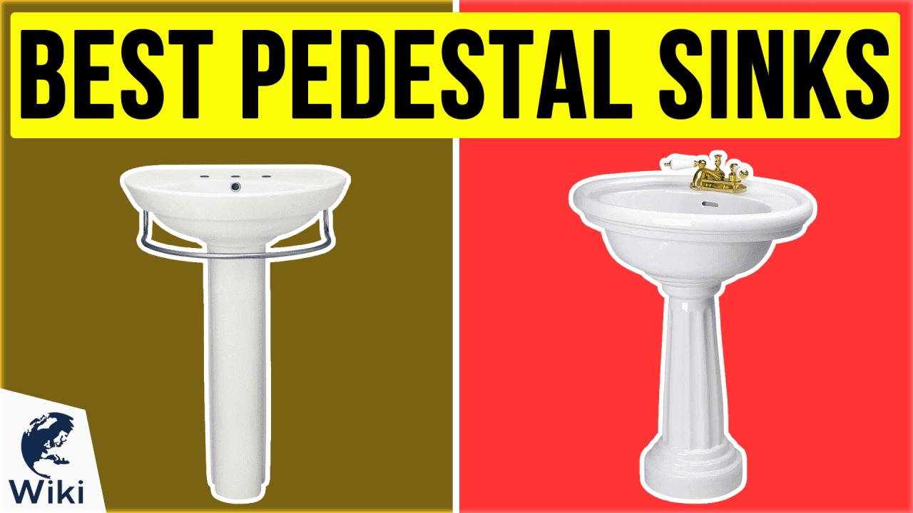 10 Best Pedestal Sinks