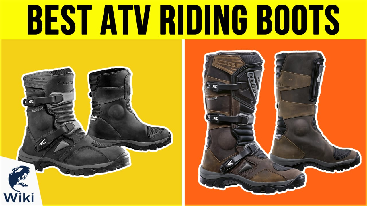 10 Best ATV Riding Boots