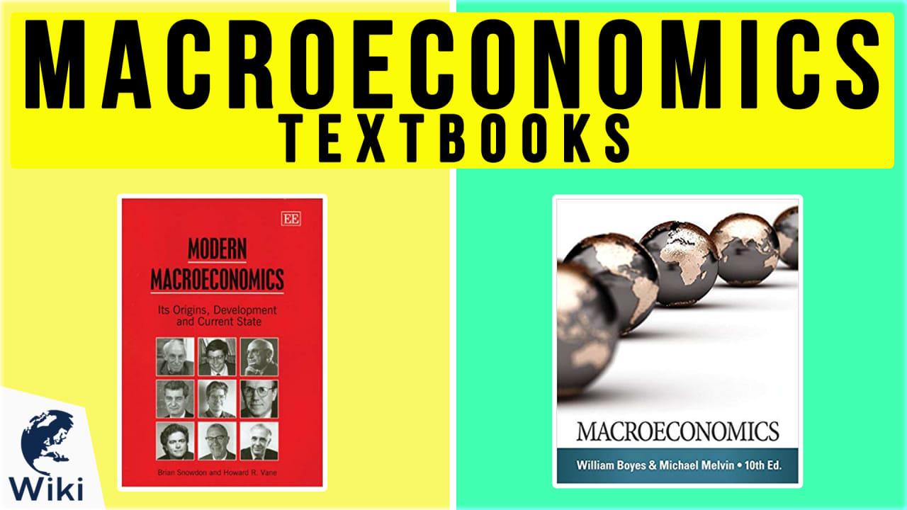 10 Best Macroeconomics Textbooks