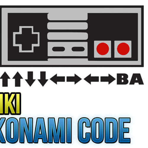 Games That Use The Konami Code As Of 2018