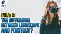 What Is The Difference Between Landscape And Portrait?