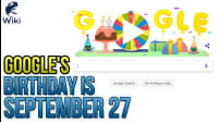 Google's Birthday Is September 27