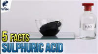 5 Facts About H2SO4 (Sulphuric Acid)