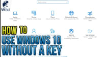 How To Use Windows 10 Without A Key