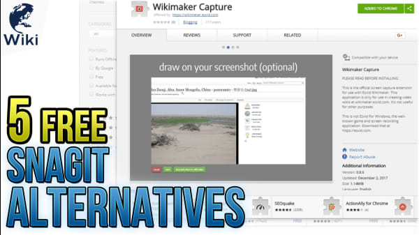 5 Free Snagit Alternatives