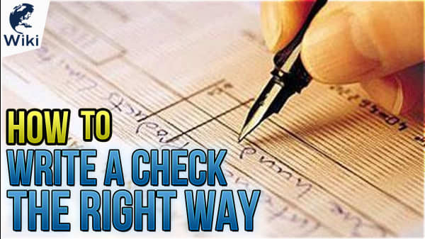 How To Write A Check The Right Way