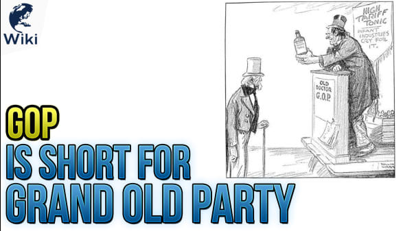 GOP Is Short For Grand Old Party