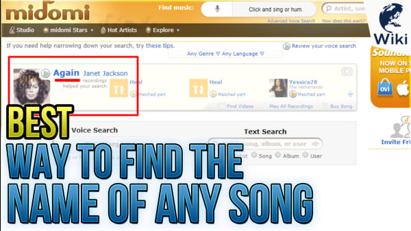 The Best Way To Find The Name Of Any Song