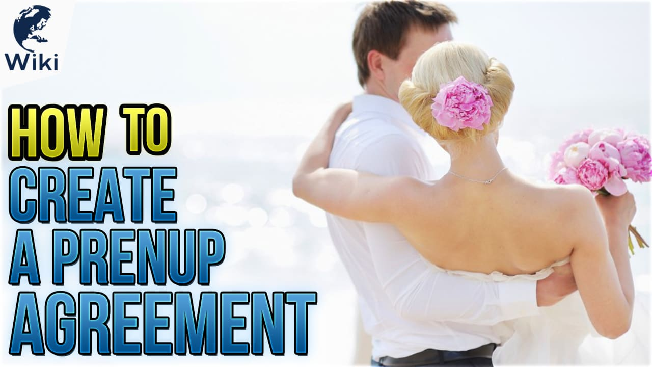 How To Create A Prenup Agreement