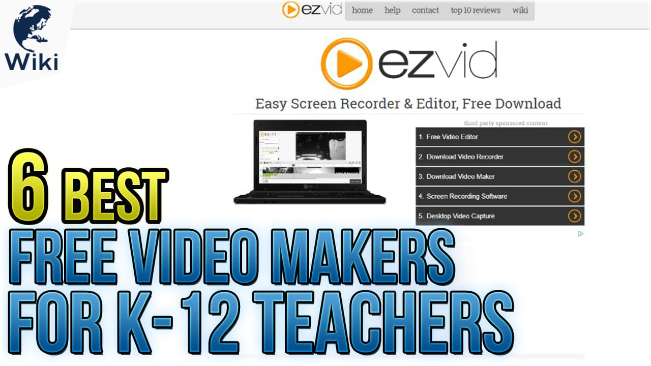 6 Best Free Video Makers For K-12 Teachers