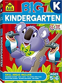 School Zone Big Kindergarten