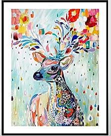 Sweet Home Colorful Deer