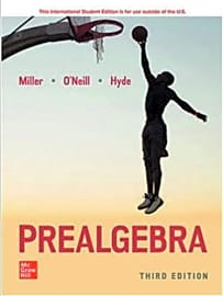 Miller, O'Neill, and Hyde's Prealgebra