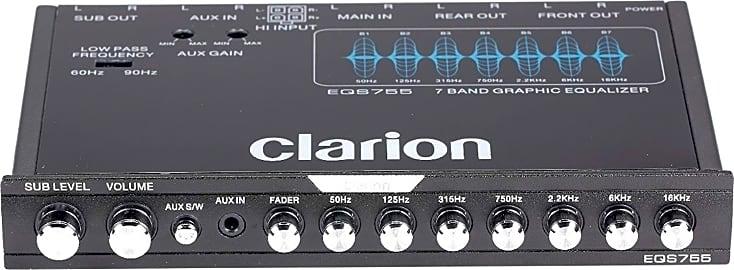Clarion EQS755