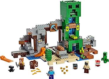 Lego Creeper Mine
