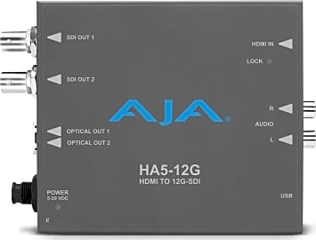 Aja HA5-12G