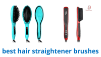 Top 10 Hair Straightener Brushes of 2016 | Video Review