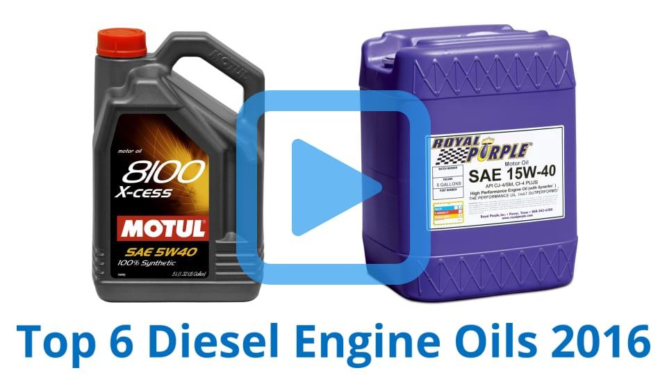 Top 6 diesel engine oils of 2016 video review for Best diesel motor oil