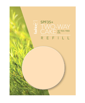 Two-Way Cake with Tea-Tree Oil Refill