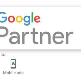 We are an accredited Google Partner Agency Image