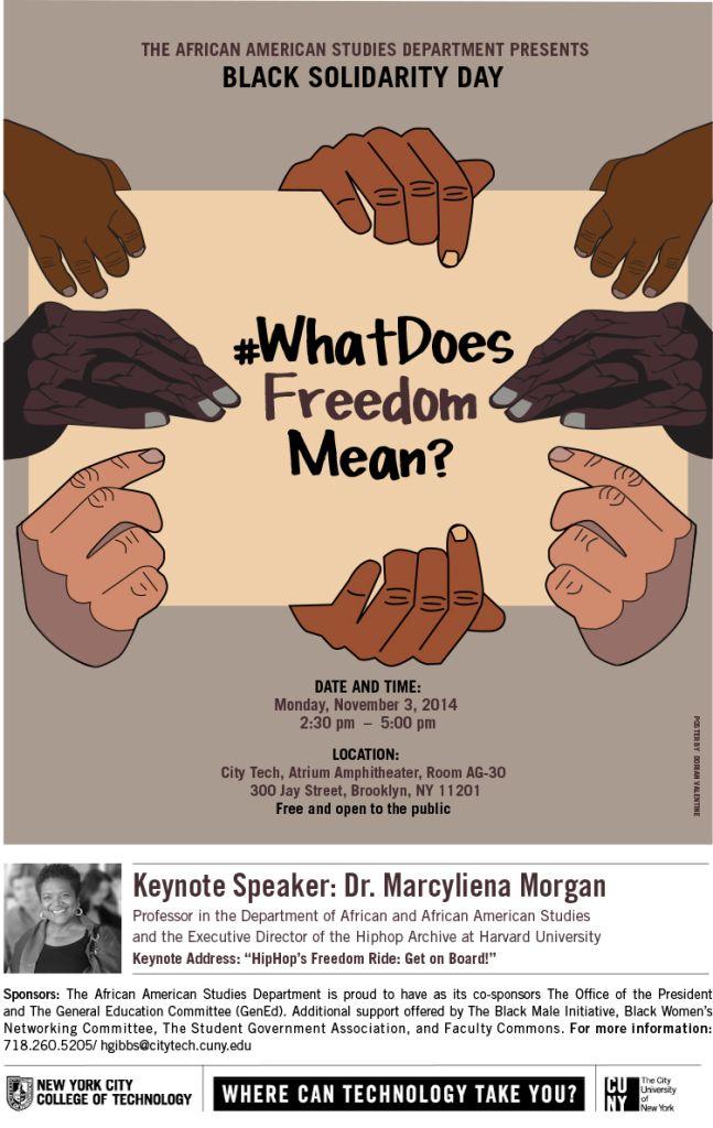 Black Solidarity Day Poster