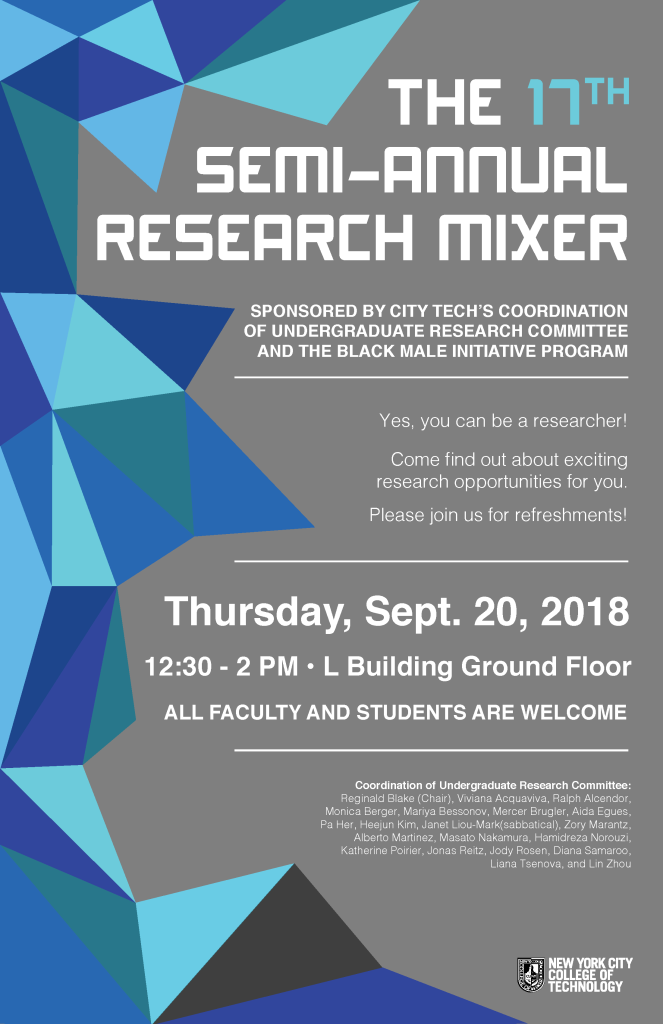 Research Mixer Poster