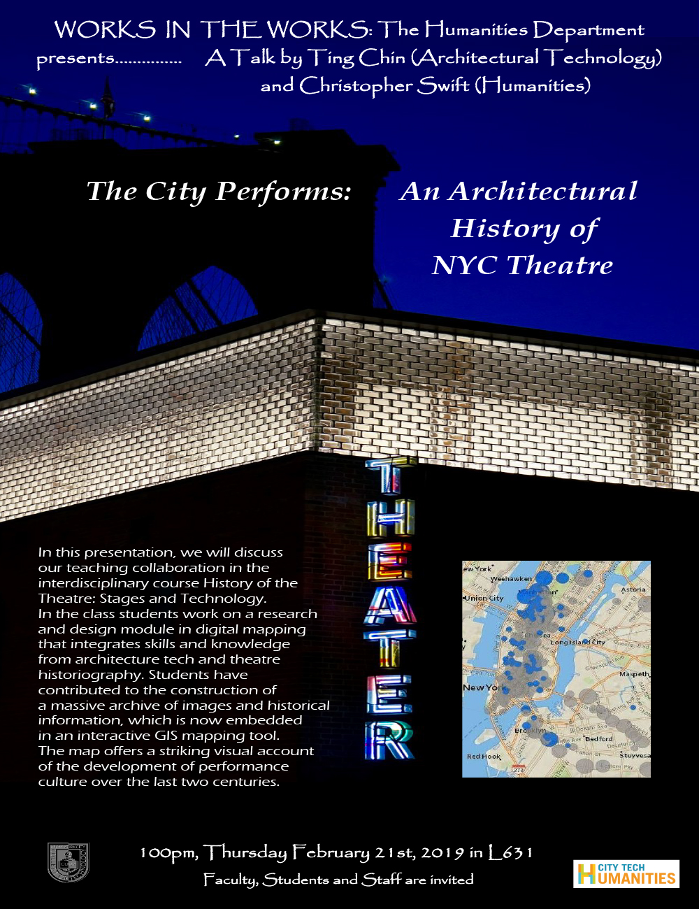 The City Performs: An Architectural History of NYC Theatre 5