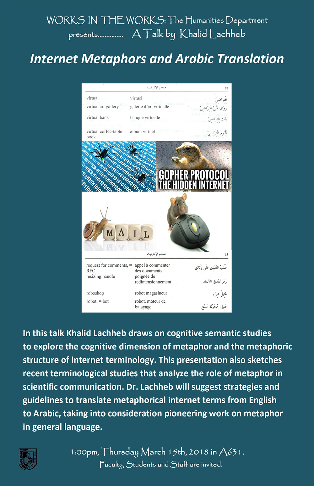 Works in the Works - Internet Metaphors and Arabic Translation
