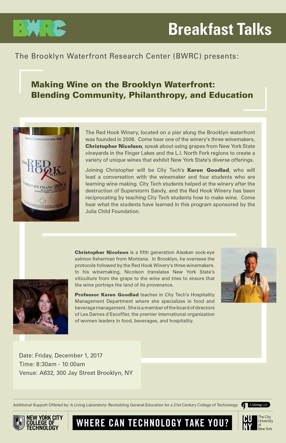 Making Wine on the Brooklyn Waterfront: Blending Community, Philanthropy, and Education