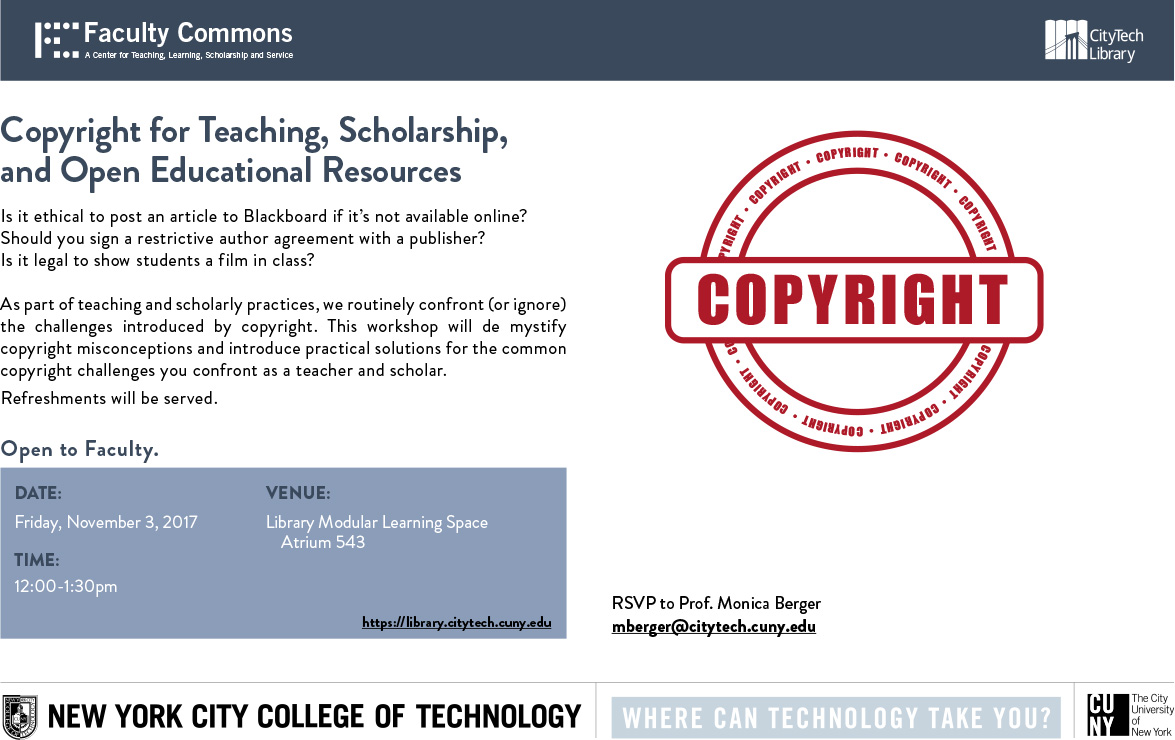 Copyright for Teaching