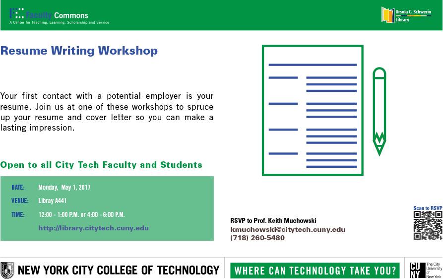 Resume Writing Workshop 1