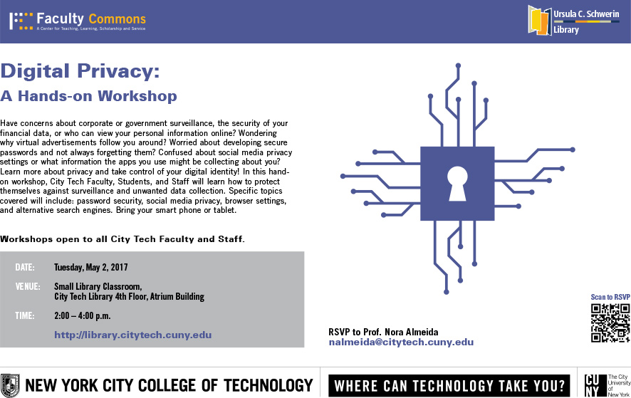 Digital Privacy: A Hands-on Workshop 1