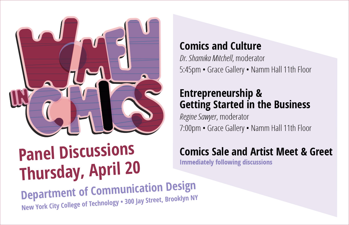 Women in Comics: Panel Discussions 1