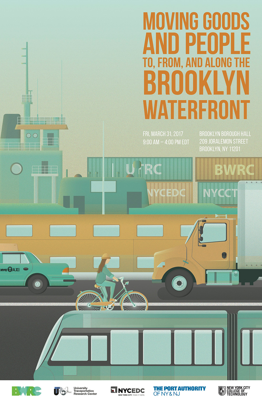 BWRC Conference: Moving Goods and People to, from, <br>and along the Brooklyn Waterfront 1