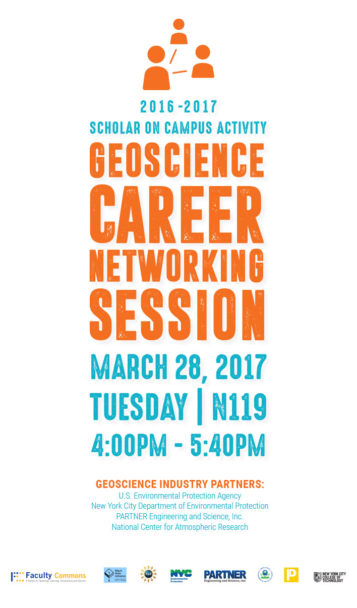 Geoscience Career Networking Session 1