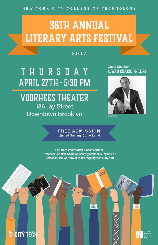 36th Annual Literary Arts Festival 2
