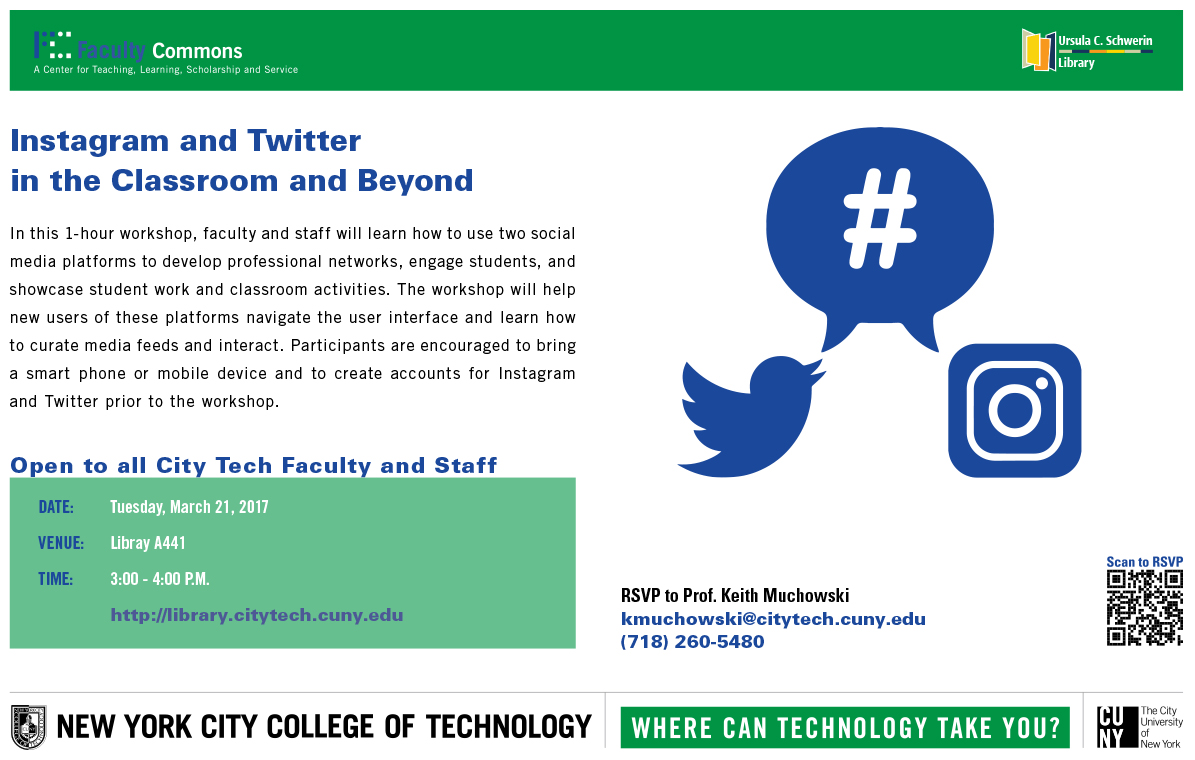 Instagram and Twitter in the Classroom and Beyond 1
