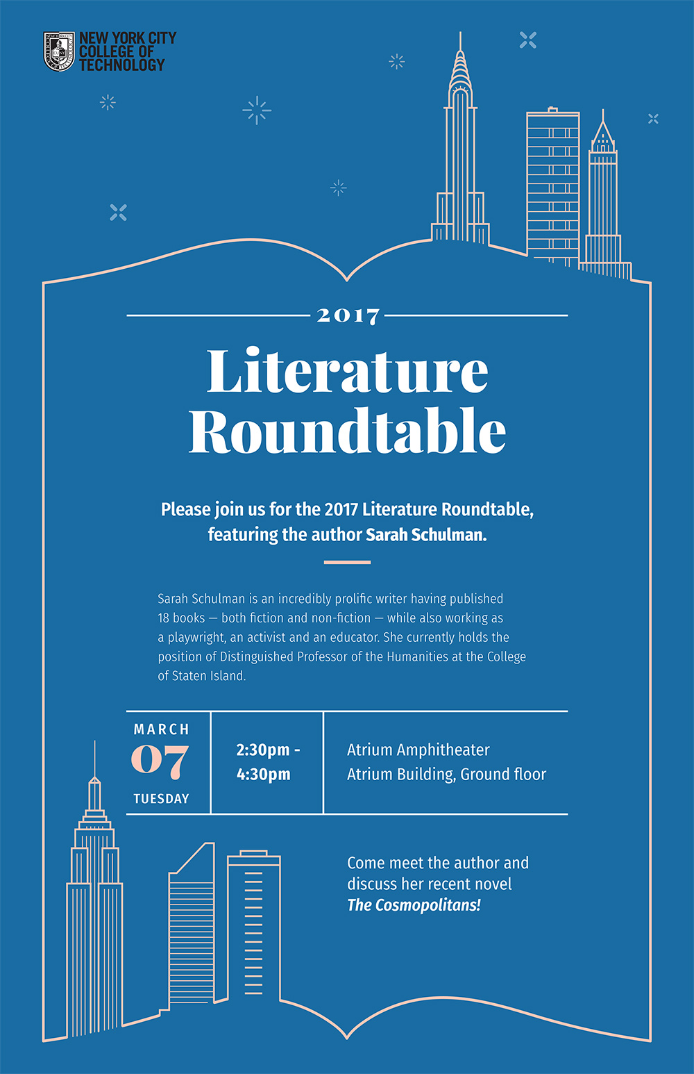 Literature Roundtable presented by the Department of English 1